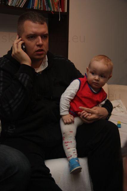 Andrej s mojou sestričkou