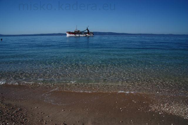 Naša ľoď - s krásnym chorvátskym morom