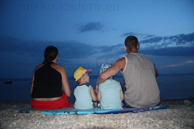 Po západe slnka - moja celá rodinka