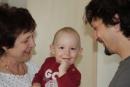 Babka, Miško a Peťo - Práve došiel strýko Peťo a chystáme sa do ZOO