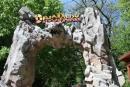 Dinopark - Vstup do dinoparku