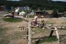 Kubko na drevenom koníkovi