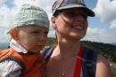 Mama a ja - vyviezli sme sa lanovkou na Novú Hoľu