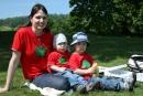 Mama, Kubko a ja - s maminou piknikujeme na lúke