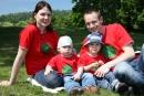 Tričká Naša malá rodinka - celá rodina v rovnakých tričkách