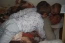 Tatov ranný budíček - jedine tento budíček na tata zaberá :)