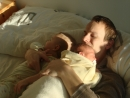 Vstávaj tato - na tata, len takýto budíček zaberá :)